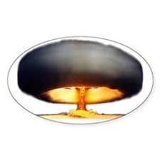 Nuclear Explosion Decal