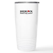 Loving Sherlock Travel Mug