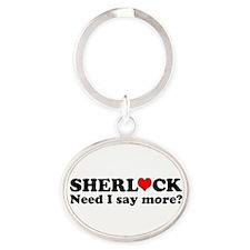 Loving Sherlock Keychains