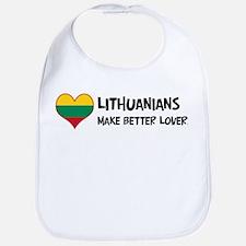 Lithuania - better lovers Bib