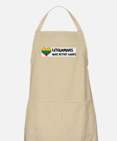 Lithuania - better lovers BBQ Apron