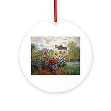 NC Monet Argenteuil Round Ornament