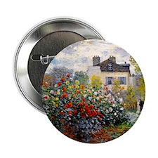 """NC Monet Argenteuil 2.25"""" Button"""