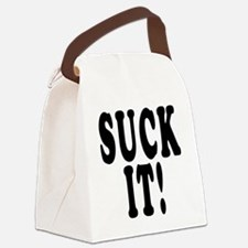Suck It Canvas Lunch Bag