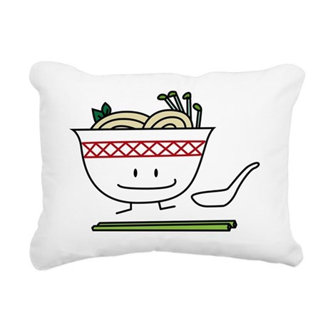 Pho Rectangular Canvas Pillow