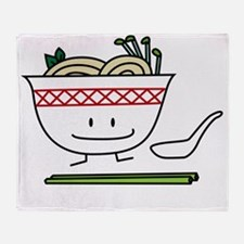 Pho Throw Blanket