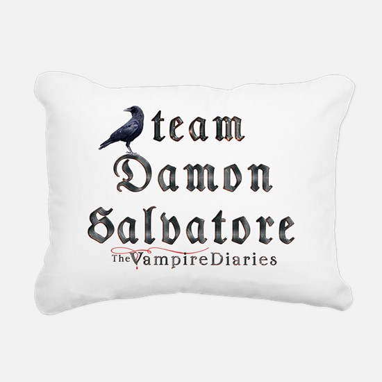 Team Damon Salvatore The Rectangular Canvas Pillow