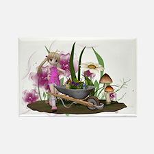 Little Gardener 1 Rectangle Magnet