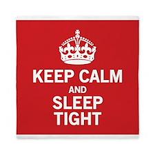 Keep Calm Sleep Tight Queen Duvet