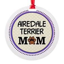 Airedale Terrier Mom Ornament
