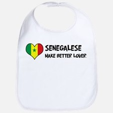 Senegal - better lovers Bib