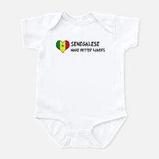 Senegal - better lovers Infant Bodysuit