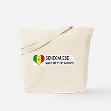 Senegal - better lovers Tote Bag