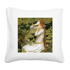Ophelia Square Canvas Pillow