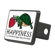 Happiness is (turtle/straw Hitch Cover