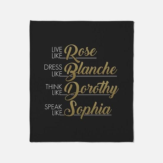 Live, Dress, Think, Speak like The Golden Girls Th