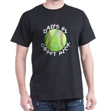 Softball T-Shirt, Gifts for Dads Son  T-Shirt