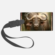 African Cape Buffalo Luggage Tag