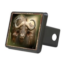 African Cape Buffalo Hitch Cover