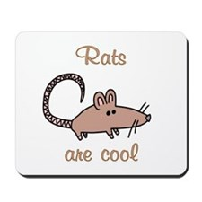 Rats are Cool Mousepad
