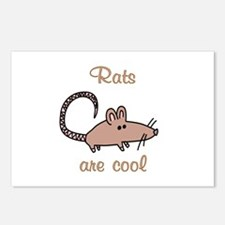 Rats are Cool Postcards (Package of 8)