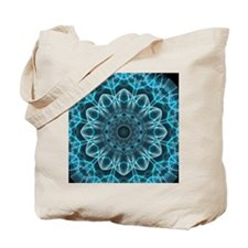 Iceblue bliss kaleidoscope Tote Bag