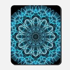 Iceblue bliss kaleidoscope Mousepad