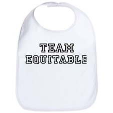 EQUITABLE is my lucky charm Bib