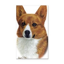 Corgi Rectangle Car Magnet