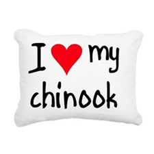 iheartchinook Rectangular Canvas Pillow