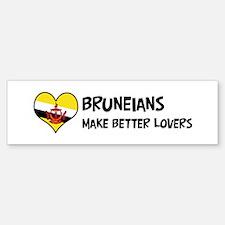 Brunei - better lovers Bumper Bumper Bumper Sticker