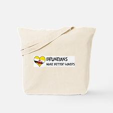 Brunei - better lovers Tote Bag