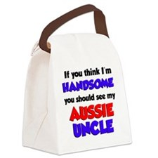 Im Handsome Aussie Uncle Canvas Lunch Bag