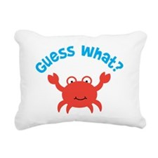 CrabBigBrotherToBeFront Rectangular Canvas Pillow