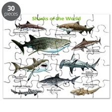 Sharks of the World Puzzle