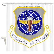 Unique Air force sac Shower Curtain