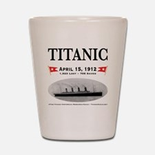 TG2 Ghost Boat 12x12-b Shot Glass