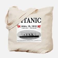 TG2 Ghost Boat 12x12-b Tote Bag