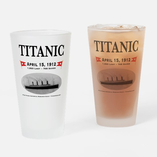 TG2 Ghost Boat 12x12-b Drinking Glass