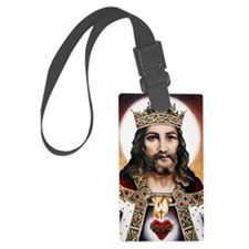 Christtheking Luggage Tag