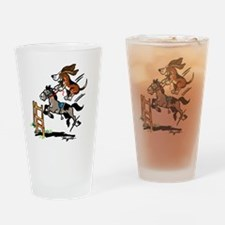 HoundsOnTheHunt Drinking Glass