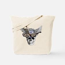 Celtic Rock Black Tote Bag