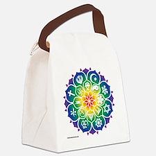 Religions_Mandala_10x10_apparel Canvas Lunch Bag