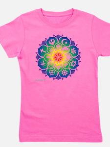 Religions_Mandala_10x10_apparel Girl's Tee