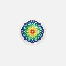 Religions_Mandala_10x10_apparel Mini Button