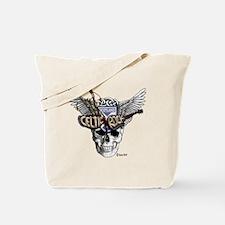 Celtic Rock White Tote Bag