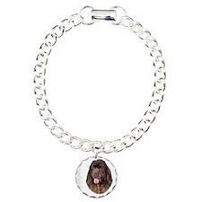 portrait13a Charm Bracelet, One Charm