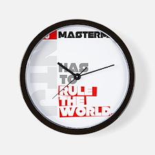 Mastermind Wall Clock