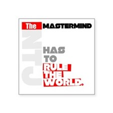 "Mastermind Square Sticker 3"" x 3"""