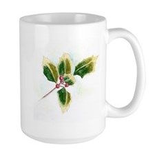 Holly Leaf Mugs